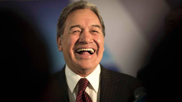 Rt Hon Winston Peters, Leader of New Zealand First Party.