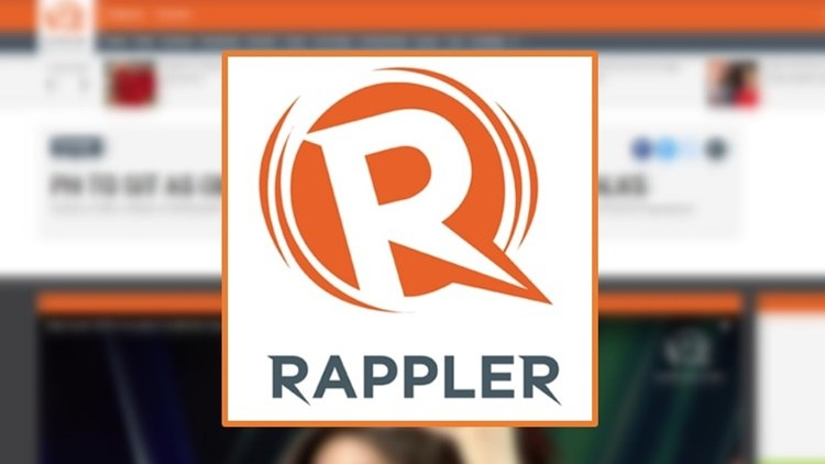 Rappler news website logo