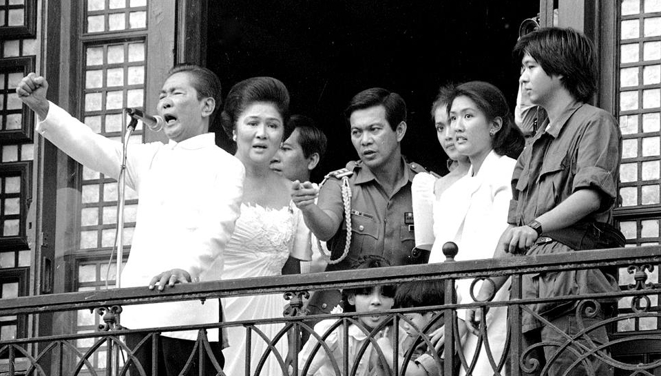 President Ferdinand Marcos family Martial Law