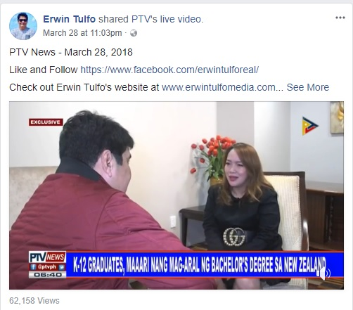 Erwin Tulfo's New Zealand Visit Leaves Behind a Cloud of