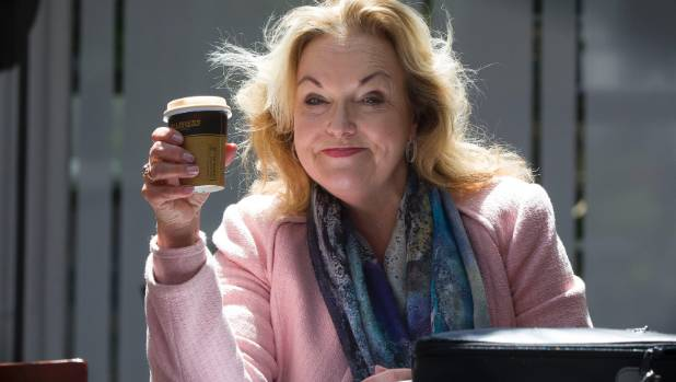 Judith Collins smiling