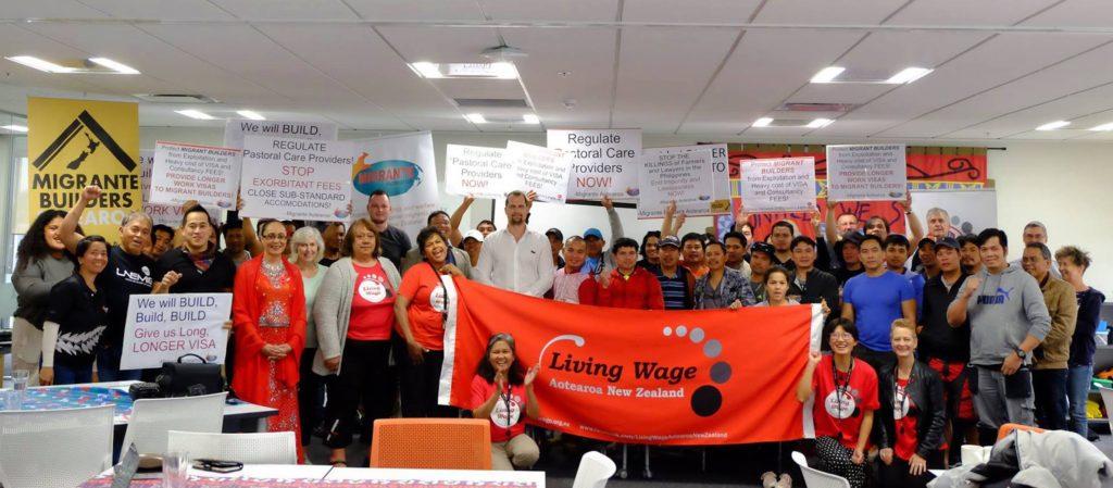 Living Wage Movement, Migrante Builders, Jenny Salesa