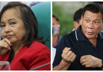 Gloria Arroyo and Rodrigo Duterte montage