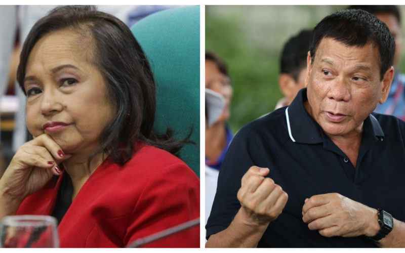 Gloria Arroyo and Rodrigo Duterte montage