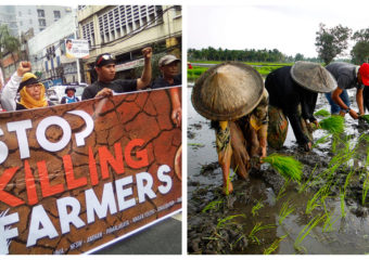 Stop killing farmers protest photo