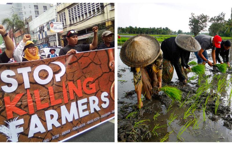 Stop killing farmers protest photo