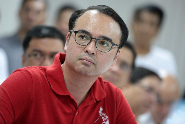 Alan Peter Cayetano observing