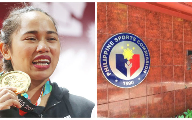 Hidilyn Diaz and the Philippine Sports Commission