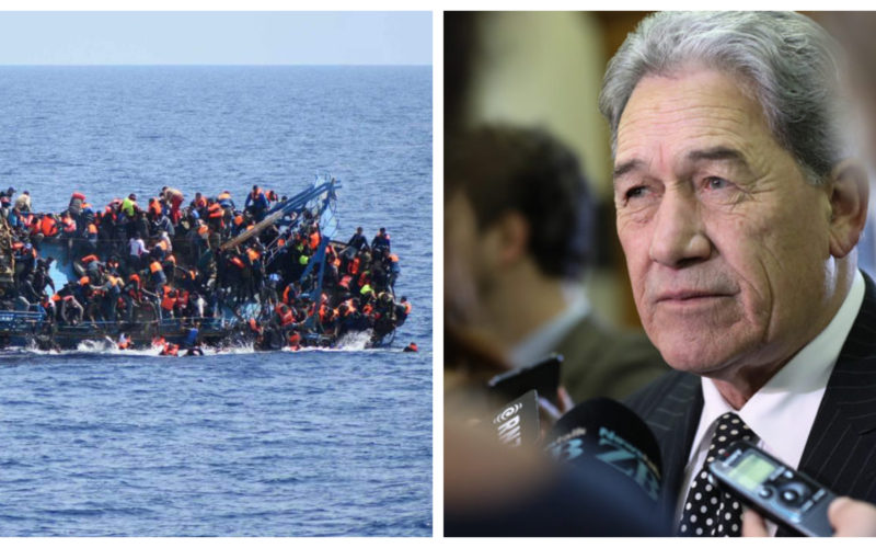 Winston Peters refugee boats