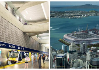 Auckland City Rail Link and Bledisloe Stadium
