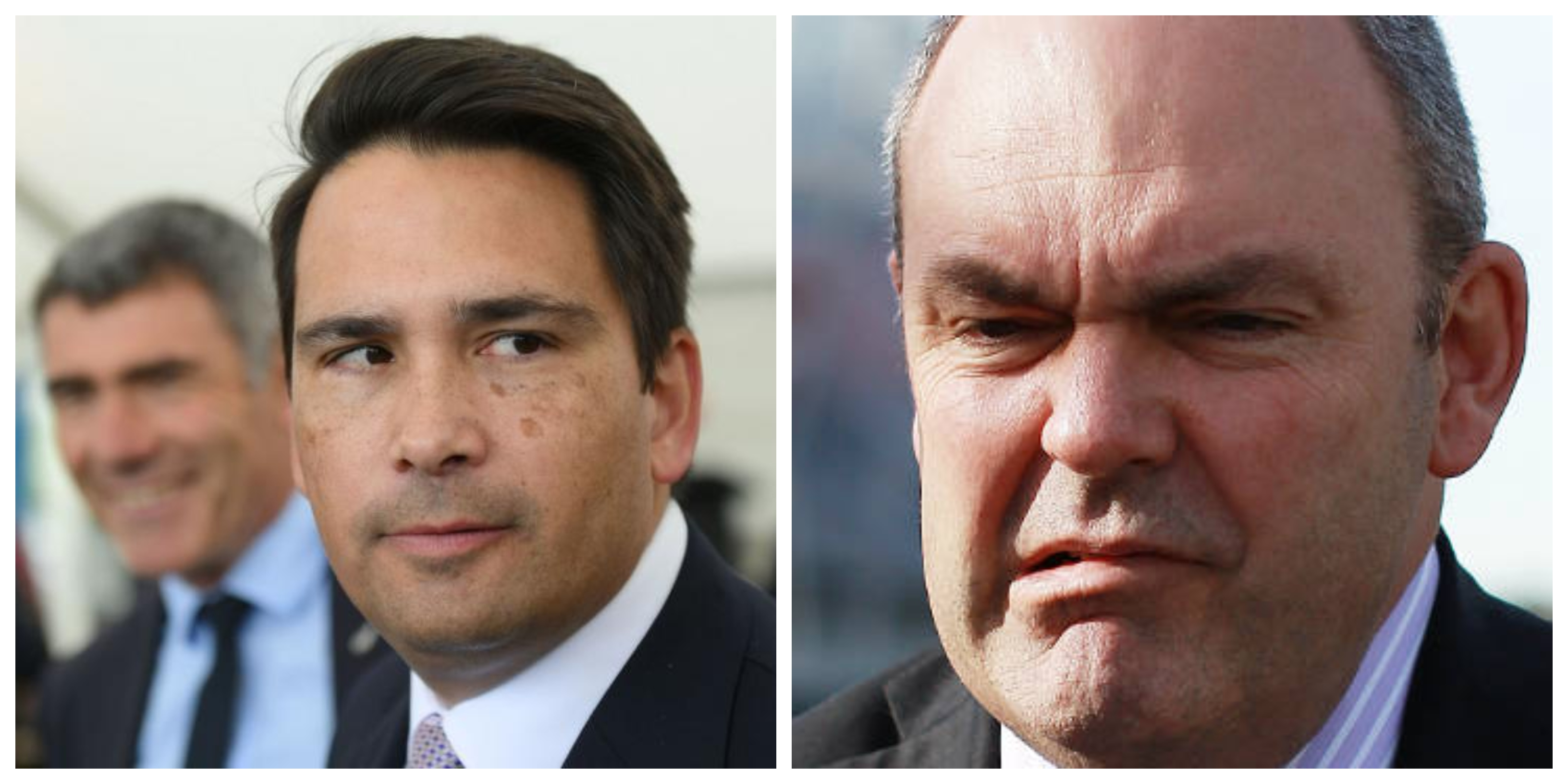 Simon Bridges Steven Joyce collage
