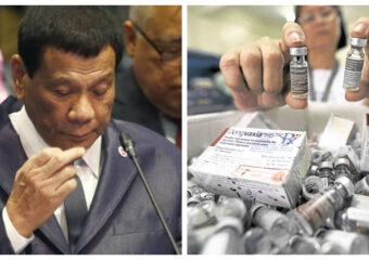 Dengvaxia vaccine Rodrigo Duterte collage