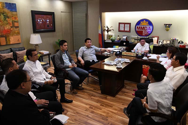 Metro Manila council with MMDA officials