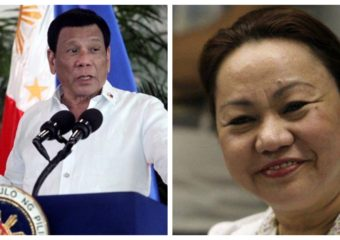 Rodrigo Duterte Janet Napoles pork barrel