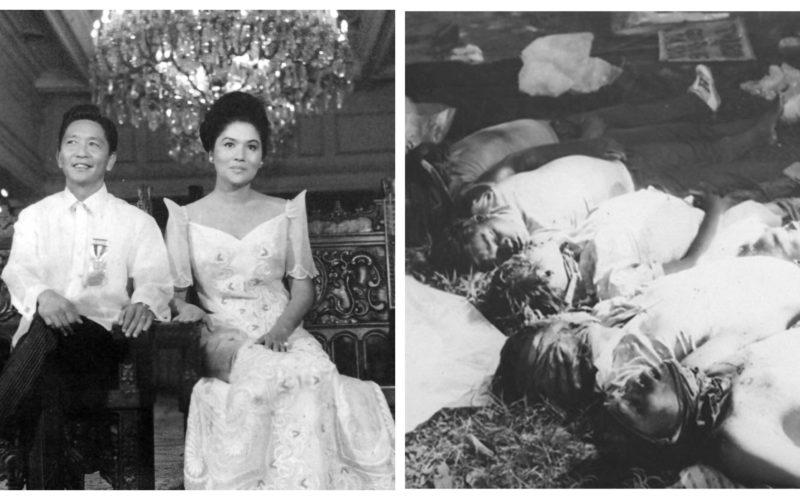 Ferdinand Marcos Imelda Marcos Martial Law Escalante Massacre