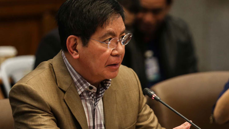 Philippine Senator Panfilo Ping Lacson by Lyn Rillon for Philippine Daily Inquirer