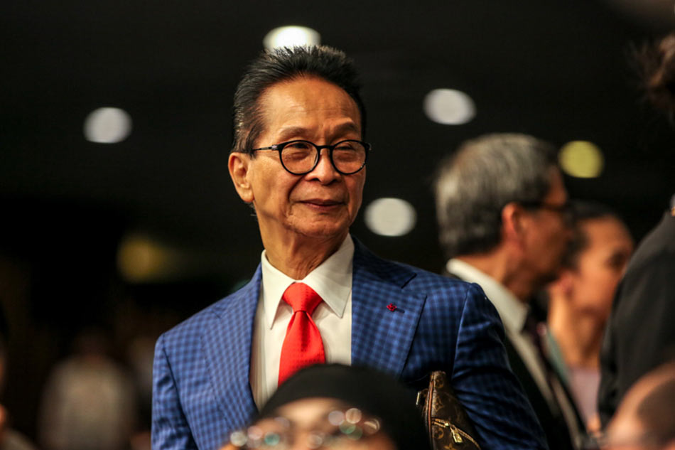 Presidential Spokesperson and Chief Legal Counsel Salvador Panelo