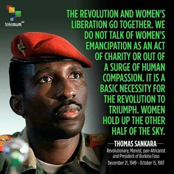 Thomas Sankara on women's rights