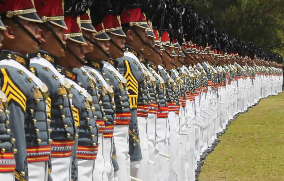 Philippine Military Academy cadets