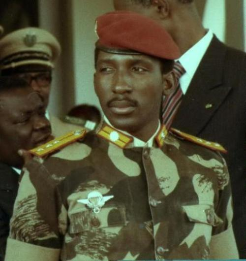 Thomas Sankara military fatigue