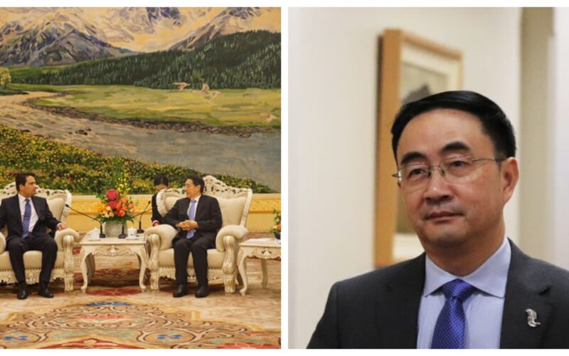 Simon Bridges meeting with CCP Guo Shengkun and Jian Yang National Party