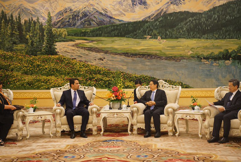 Simon Bridges meeting with Guo Shengkun Chinese Communist Party
