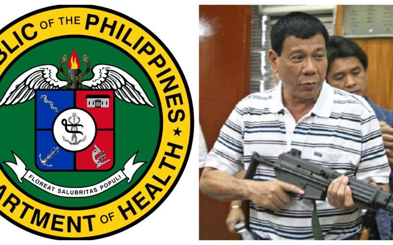 Rodrigo Duterte Department of Health budget