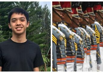 Cadet Darwin Dormitorio Philippine Military Academy