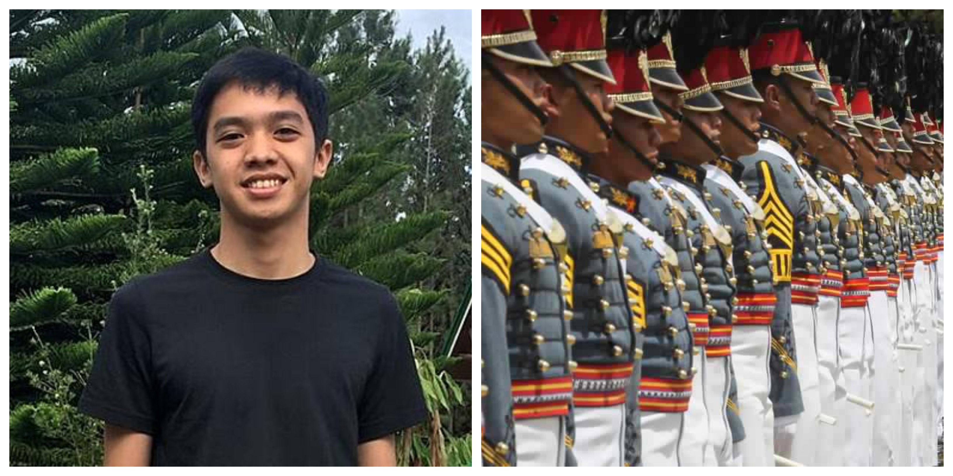 Cadet Darwin Dormitorio Philippine Military Academy