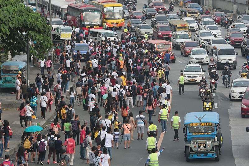 Philippine transport crisis