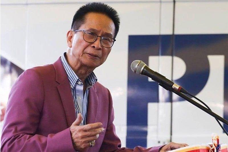 Presidential Spokesperson Salvador Panelo