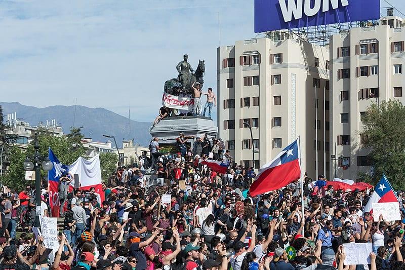 Chilean protests Wikimedia photo