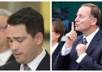 National Party Simon Bridges John Key Gerry Brownlee
