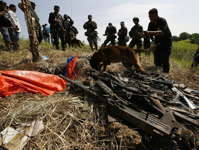 Ampatuan Family Maguindanao Massacre weapons cache