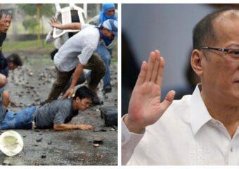 Hacienda Luisita Massacre Benigno Noynoy Aquino III photo collage