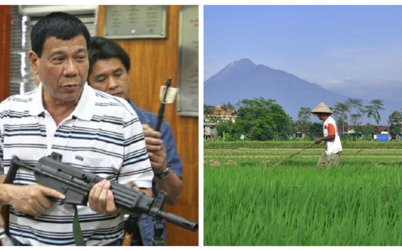 Rice Tariffication Law Rodrigo Duterte Philippine rice farmers