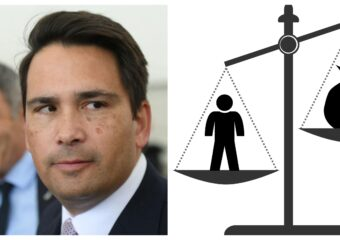 New Zealand foreign electoral donations ban Simon Bridges National Party