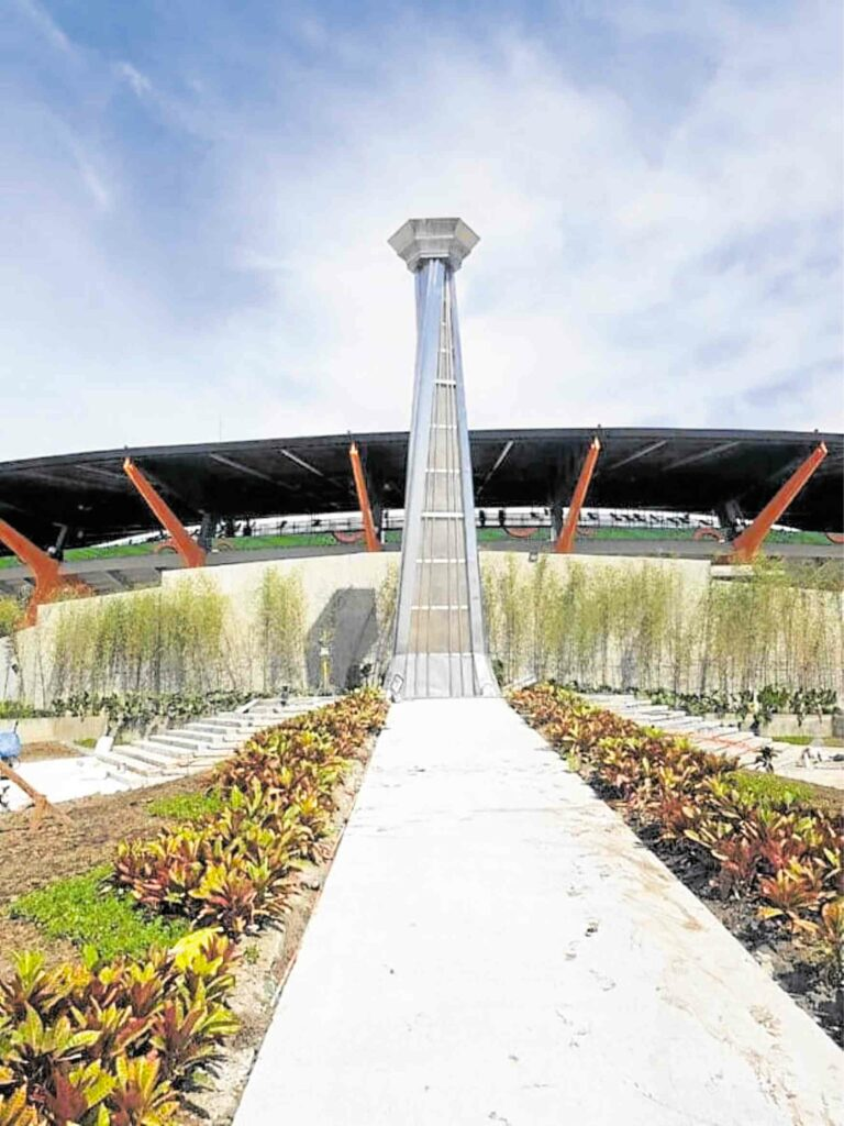 30th Southeast Asian Games SEA GAmes cauldron Bobby Manosa