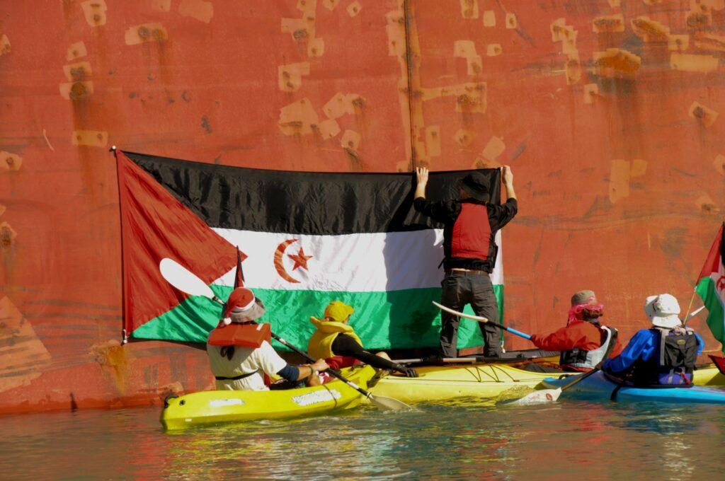 Western Sahara phosphate activists