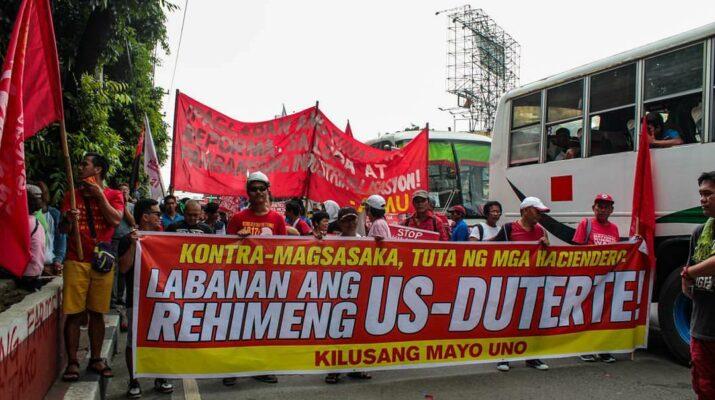 US-Duterte Regime Kilusang Mayo Uno KMU