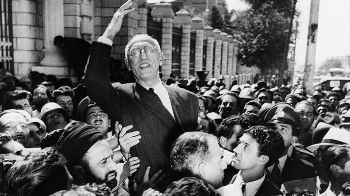 Prime Minister Mohammad Mosaddegh Iranian coup 1953