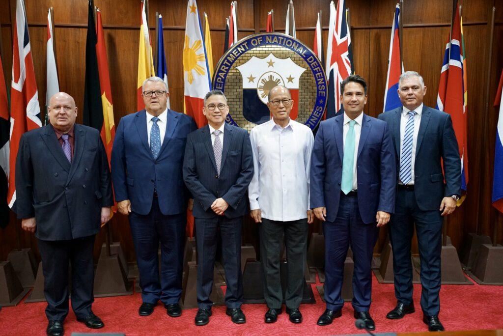 National MPs with Delfin Lorenzana in Manila
