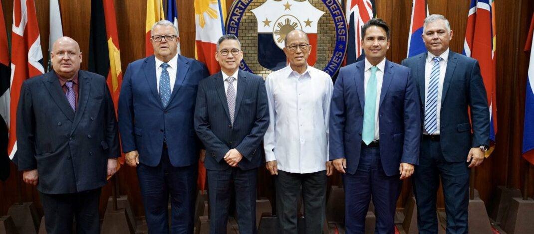 National MPs with Delfin Lorenzana in Manila