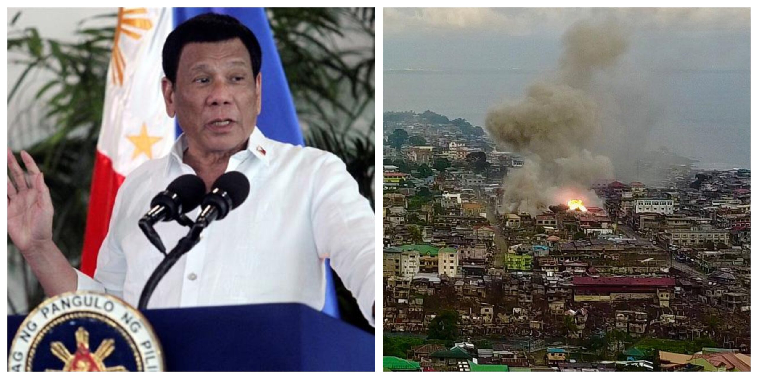 Rodrigo Duterte Battle of Marawi Martial Law Mindanao