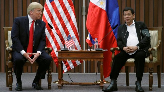 Donald Trump Rodrigo Duterte meeting Manila