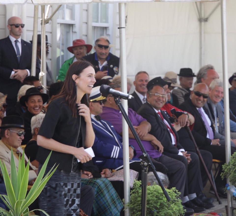 Prime Minister Jacinda Ardern speech Waitangi Day