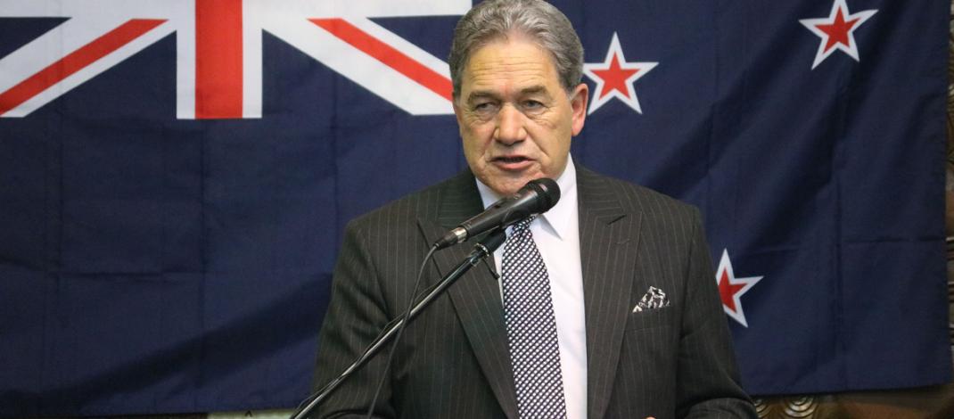 The Rt. Hon. Winston Peters, Deputy Prime Minister