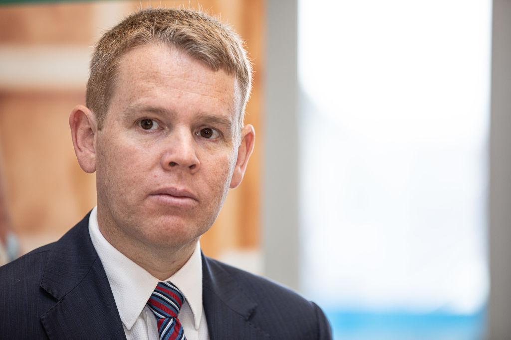 Chris Hipkins New Zealand Minister of Health