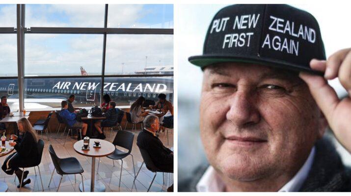 Shane Jones Air New Zealand