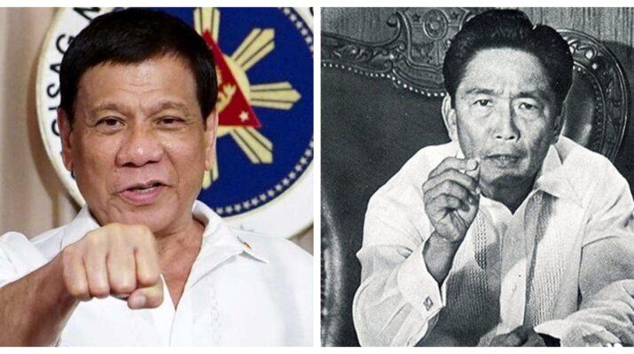 Rodrigo Duterte Ferdinand Marcos Martial Law Philippines